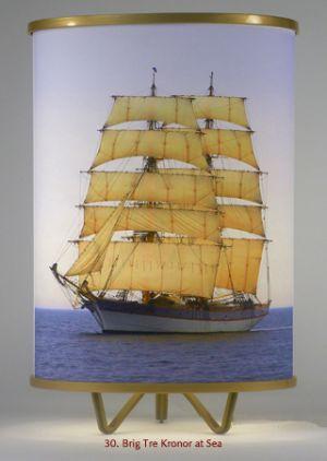 30. Brig Tre Kronor At Sea