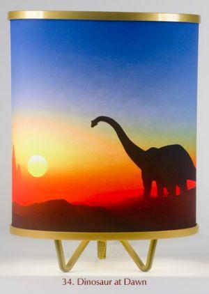 34. Dinosaur At Dawn