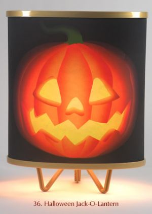 36. Halloween Jack-O-Lantern
